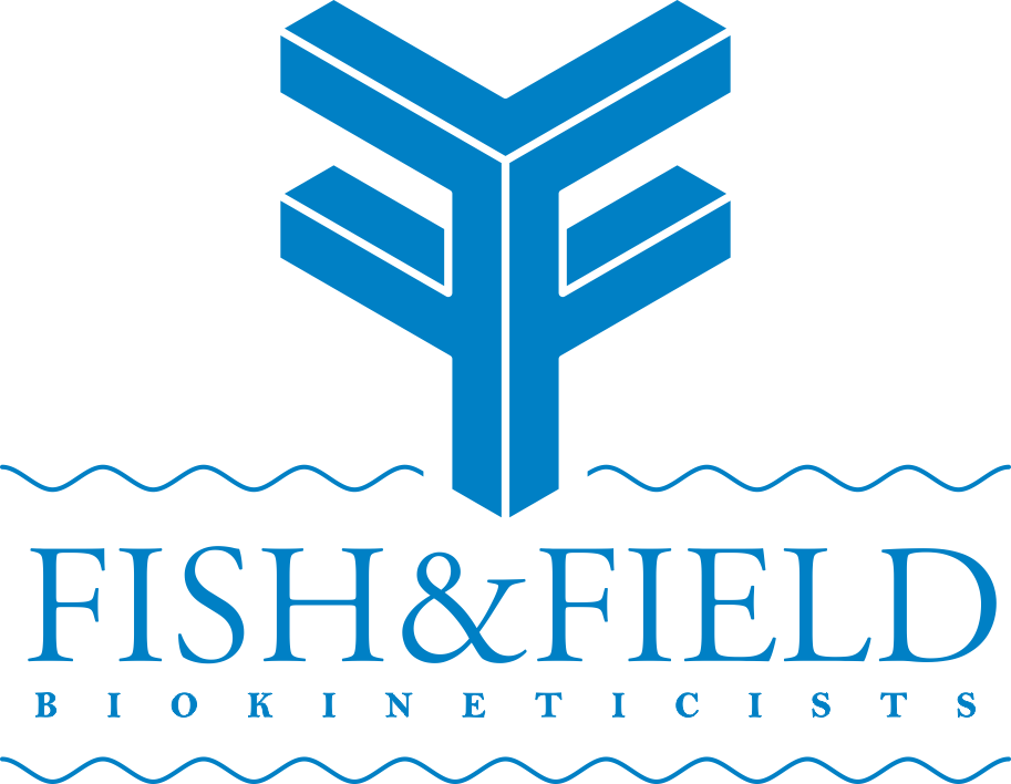 logo for biokineticist team Fish & Field