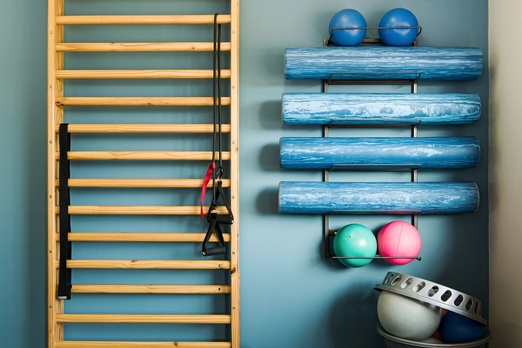 land based therapy tools for rehabilitation exercises at Fish and Field Biokineticists biokinetic services in Sandton