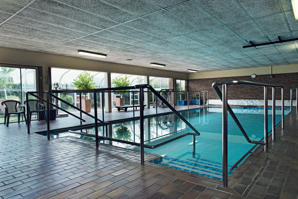 Fish & Field biokineticists premises at San Sereno offers aqua therapy in heated pool.