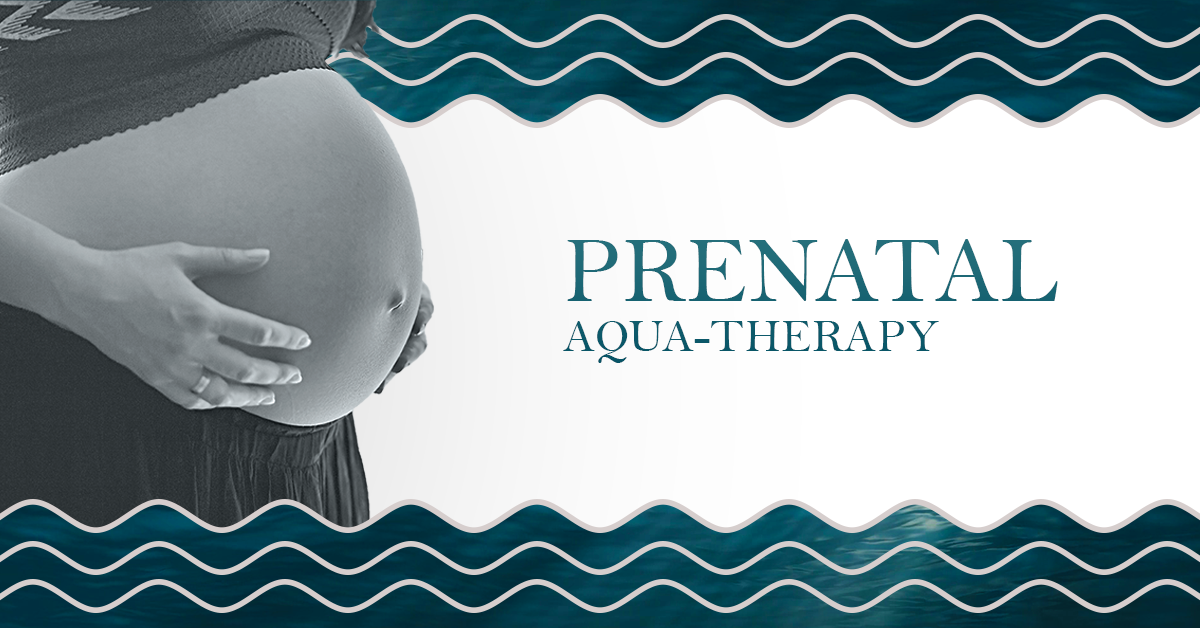 Pregnant belly advertising prenatal aquu-therapy classes with Fish and Field Biokineticists in Bryanston, Johannesburg
