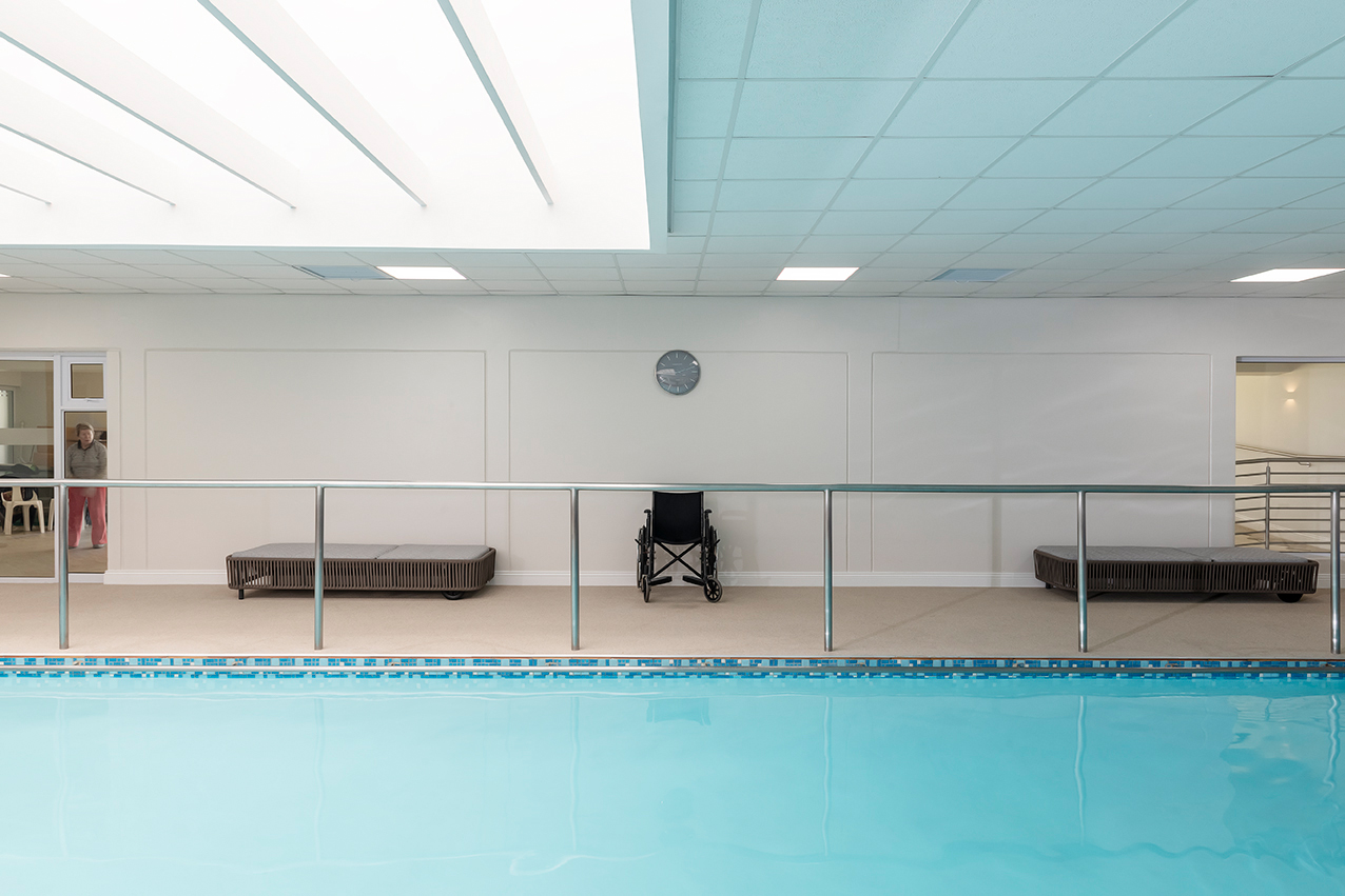 Fish & Field biokineticists premises at San Sereno offers aqua-therapy for group exercise classes