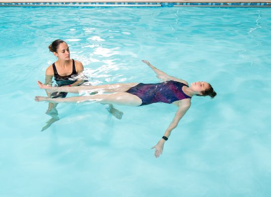 Aquatic therapy helps you focus on quality life when living with a chronic conditions causing long term discomfort. Biokinetics in Bryanston, Sandton.