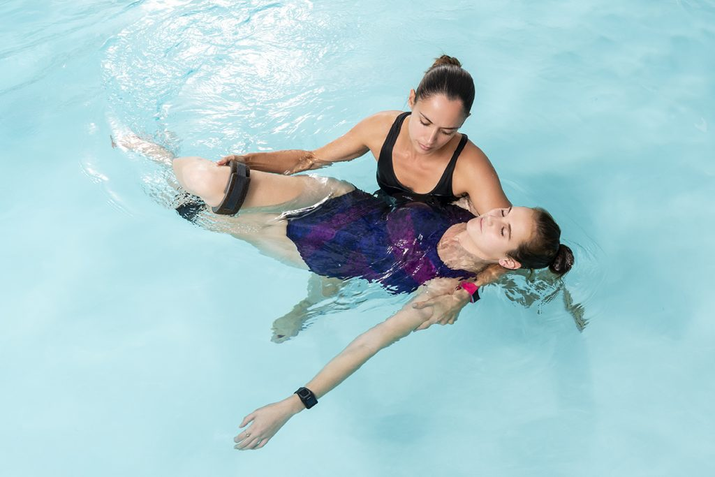 aqua therapy in Bryanston, Johannesburg is a good place to start rehabilitation of acquired or traumatic brain injuries