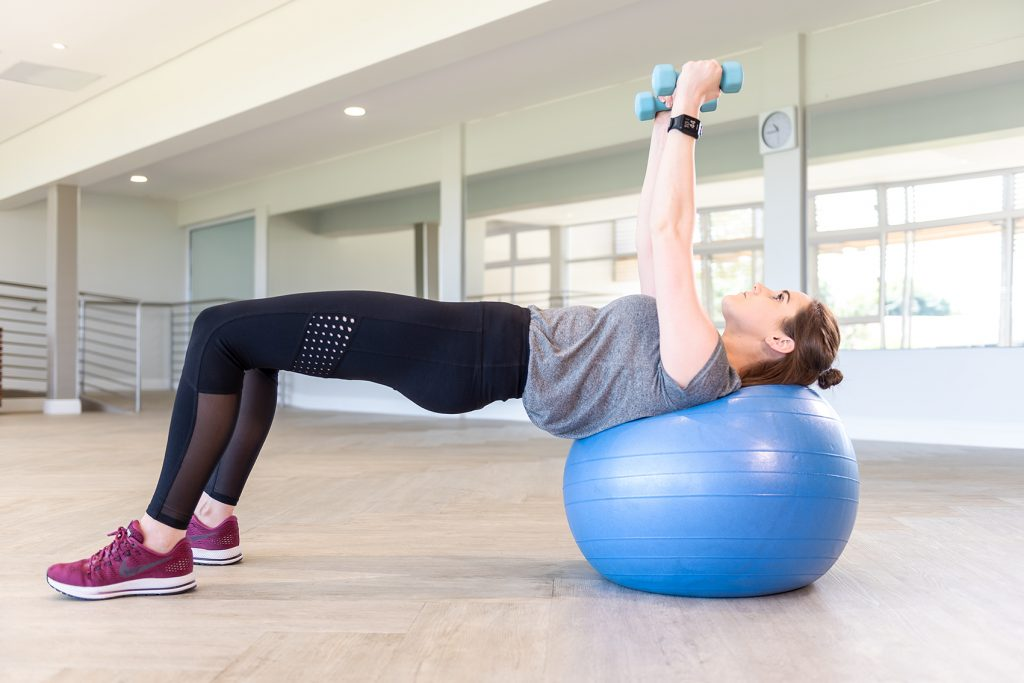 Strength training like that using free weights like dumbbells is an important component of rehabilitation as illustrated by Fish & Field Biokineticists