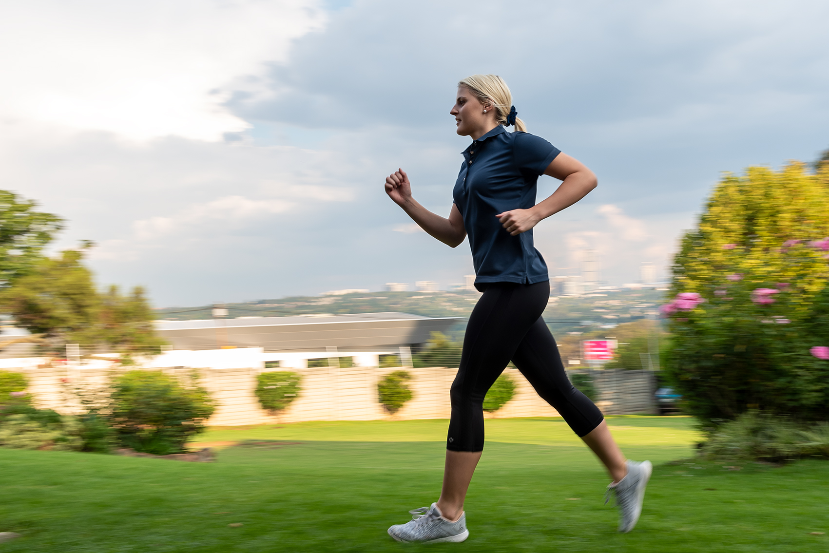 Improve your immune system through exercise like running during the pandemic